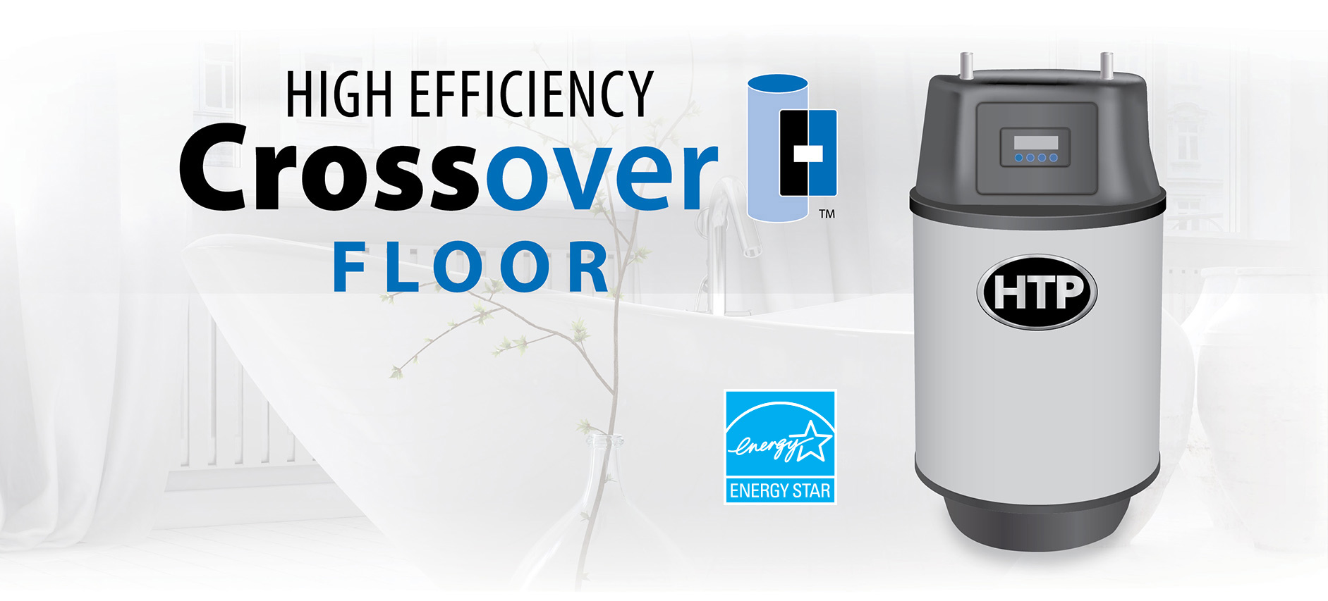 Crossover Energy Star High Efficiency Gas Hot Water Heaters